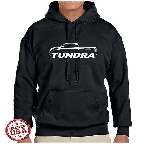 0a3b78485155 Toyota Tundra Pickup Truck Classic Outline Design Sweatshirt Hoodie