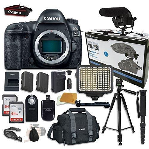 Canon EOS 5D Mark IV Digital SLR Camera Bundle...