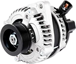 SCITOO Alternators AL1311X 11391 Fit for Acura Cars RL 2009-2012 3.7L TL 2009-2014 3.5L/3.7L TSX 2010-2014 3.5L Acura Trucks MDX 2010-2013 3.4L/3.7L ZDX 2010-2013 3.7L