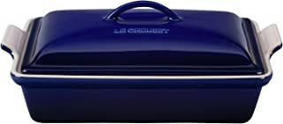 Le Creuset of America PG07053A-3378 Heritage Covered Rectangular Casserole, 4 qt. (12