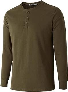 Men's Walden Long Sleeve Blended Thermal 3 Button Henley Shirt