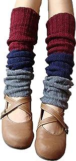 MIRIPARIS レッグウォーマー Newデザイン【オータムレインボー】3カラー16アイテム 足首保護 防寒 冷え取り ルーズソックス 靴下 ソックス ヨガ ジム フィットネス ダンス ゴルフ 通学 通勤