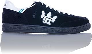 Salming NinetyOne Shoe 91 Indoor Handball Shoes Goalkeeper Sneaker black/white, EU Shoe Size:42 2/3 EU