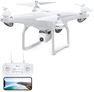 Potensic D58, Drone with Camera 1080P, GPS Quadcopter 120° Wide Angle 5G WiFi FPV, Remote Control, Follow Me, Orbit Mode, 18mins