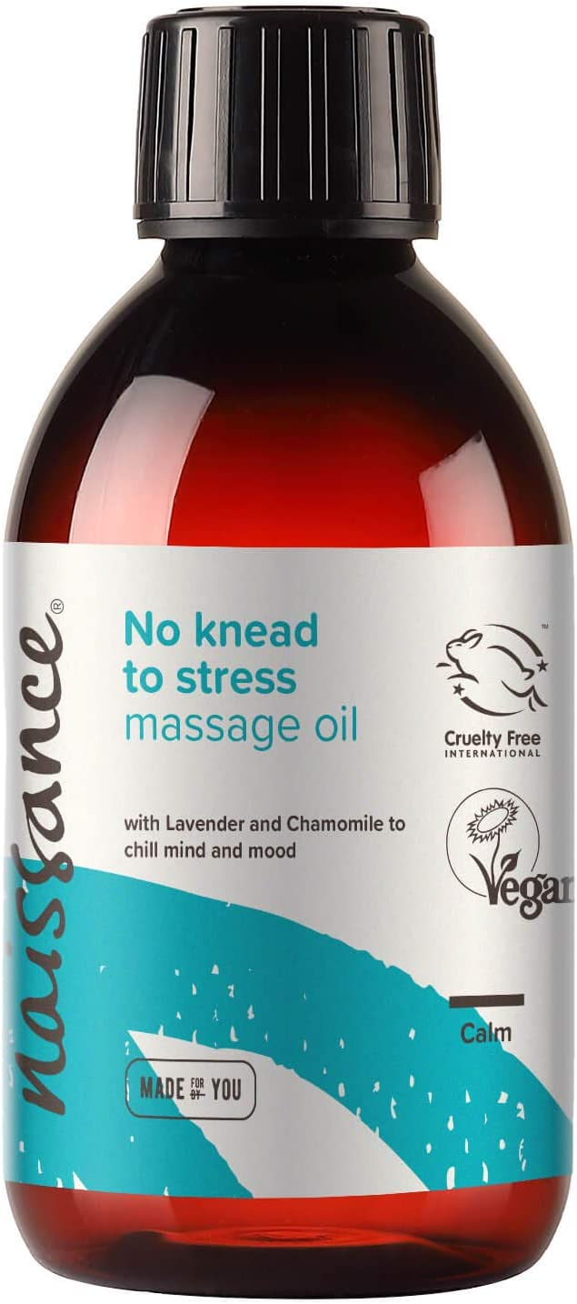 Naissance 'No Popular product Knead to Stress' Therapeutic Super sale Massage Oil Relaxing
