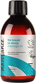 Naissance No Knead To Stress - ontspannende massageolie 100 ml - 100% natuurlijk met etherische oliën lavendel, ylang ylan...