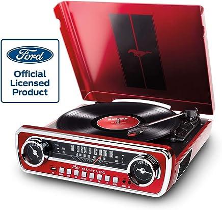 Wonderlijk Amazon.com: Ion Audio Mustang LP Ford 4-in-1 Classic Car Styled BT-97