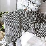 GAOJINXIURZ Scaldaletto Matrimoniale Termocoperta Grey Coperta del sofà e gettando/Scialle/Coperta Letto/Floating Window Coperta/Coperta Asciugamano, 130x160cm