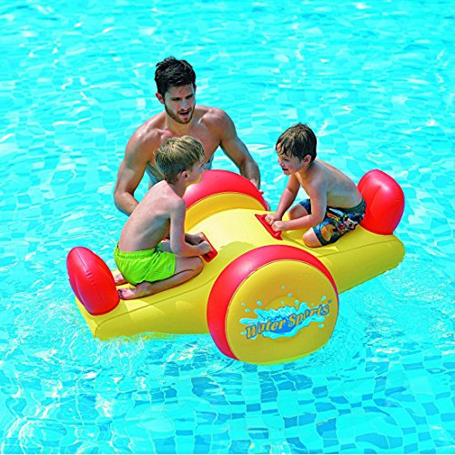 Pool Float - Kids Inflatable Seesaw Swimming Pool Water Toy...