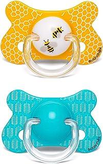 Suavinex - Pack 2 chupetes para bebés +18 meses. con tetina