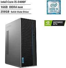$699 » 2019 Lenovo IdeaCenter T540 Gaming Desktop Intel Core i5-9400F up to 4.1GHz, NVIDIA GeForce GTX 1660 TI Graphics 6 GB GDDR5, 16GB DDR4-2666 RAM,256GB PCIe SSD, Windows 10, Black (Renewed)