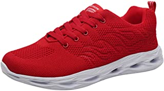 VonVonCo Shoes Elastic Durable Yoga Surf Sports Brogues Men's Fashion Breathable Lightweight Running Woven Mesh Non-Slip Sneakers