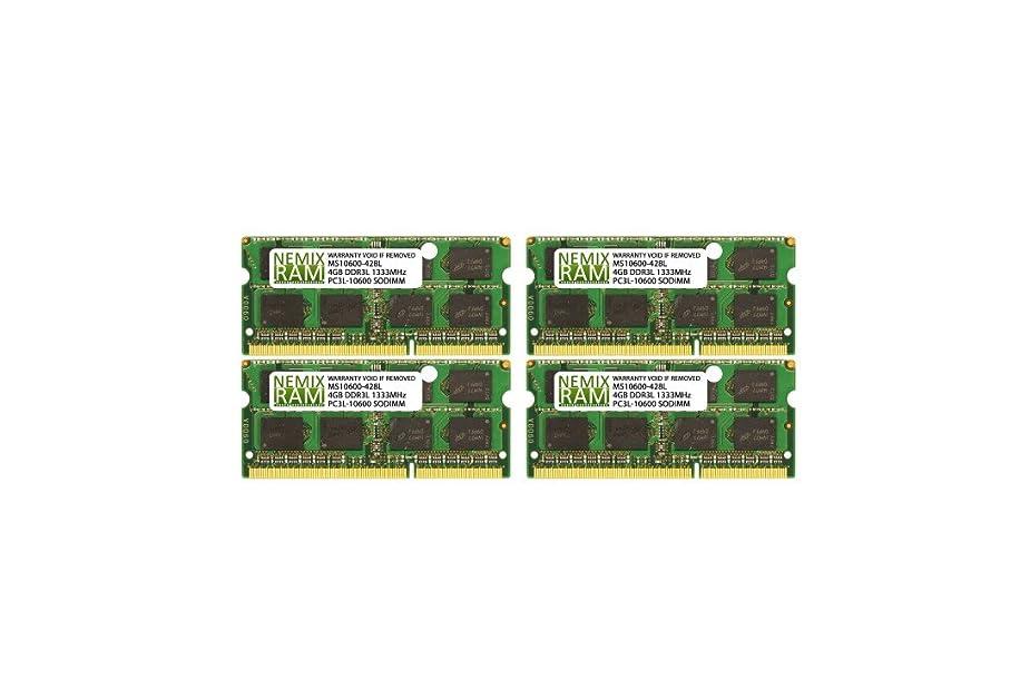 NEMIX RAM 16GB (4X4GB) DDR3-1333 Memory for Apple iMac 2011