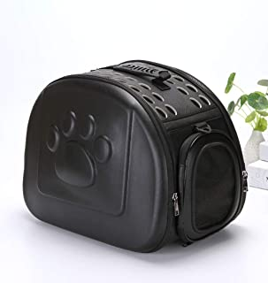24x7 eMall Pet Carrier, Solid Colours Hard Cover Portable Tote Soft Breathable Comfort Transport Shoulder Bag for Small ca...