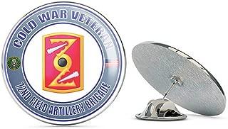 U.S. Army Cold War 72nd Field Artillery Brigade Veteran Metal 0.75