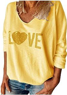 Kenmeko Maglie Donna Maniche Lunghe Elegante Invernale Tops Casuale Magliette Pullover Autunno T-Shirt Bluse Felpe