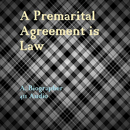 A Premarital Agreement is Law audiobook cover art
