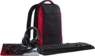 Acer Nitro Gaming 5-in-1 Accessory Bundle (Backpack, Headset, Keyboard, Mouse and Mousepad)
