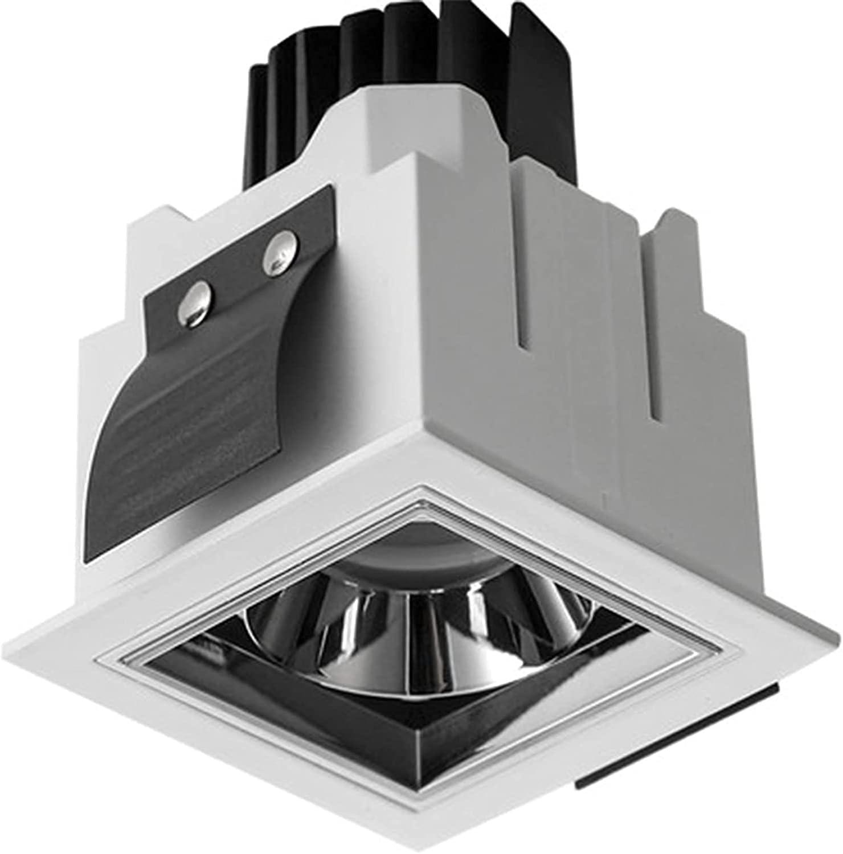 PJDOOJAE Fixed price for sale Mini Glare-free LED Square Inexpensive Ceiling Spotlight Downlight