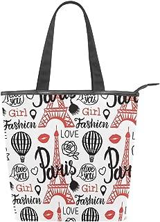 DERLONKAJE Women Magical Wormhole Canvas Shoulder Hand Bag Tote Bag