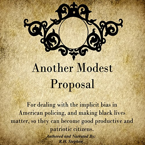 Another Modest Proposal audiobook cover art