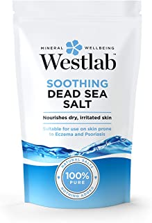 WESTLAB 100% PURE SOOTHING DEAD SEA SALT 1KG