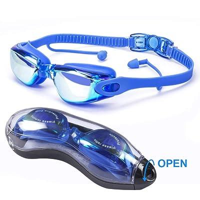 HOOFUN Swimming Goggles,Swim Goggles 3D Ergonom...