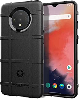 Case OnePlus 7T Black rugged shield Armor Cover