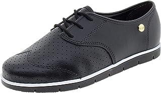 Sapato Feminino Oxford Preto Moleca - 5613304