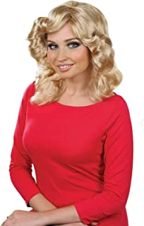 Womens Decades Wigs Adults Rock Disco Wartime Vintage Celebrity Costume Accessories