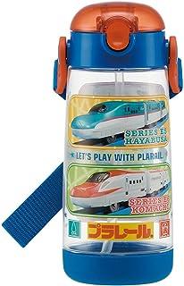 スケーター 子供用 水筒 クリアボトル ストロー付き プラレール 20 480ml PDSH5