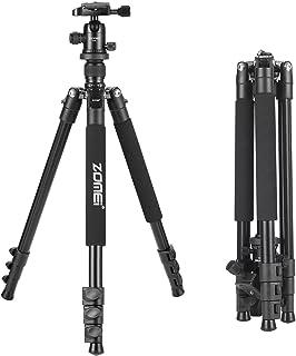 ZOMEi Q555 Trípode Ligero de Viaje de Aleación de Aluminio para Canon Nikon Sony Samsung Panasonic Olympus Fuji DSLR