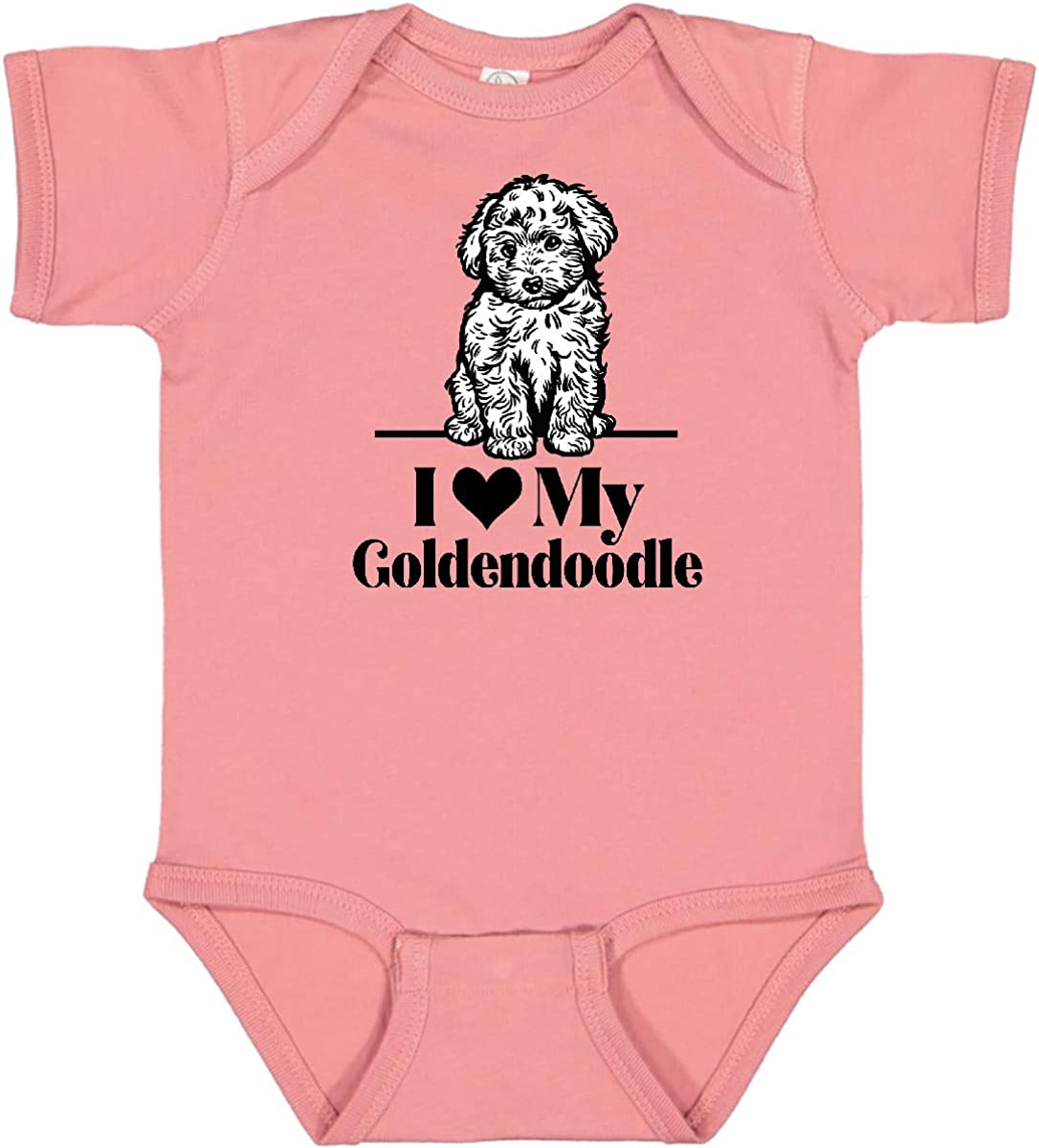 inktastic National uniform free shipping I Love My Creeper Infant Goldendoodle Ranking TOP4 Dog