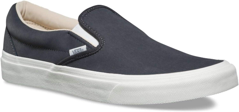 Vans Unisex shoes Classic Slip On (Vansbuck) Asphalt Fashion Sneaker