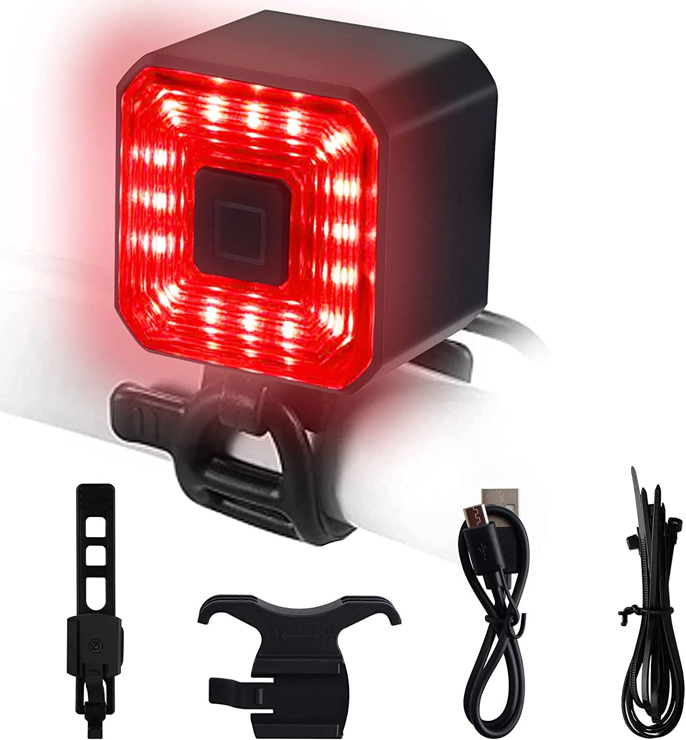 Jacksonville Mall Bike Tail Light Bicycle Rear Sale price Rechargeable Taillights