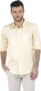 BASICS Slim Fit French Vanilla Satin Shirt