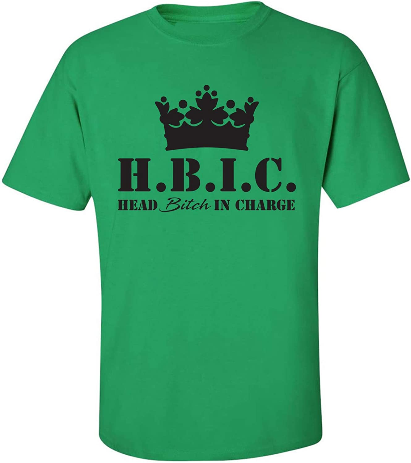 H.B.I.C. Head Bitch in Charge Adult Short Sleeve T-Shirt