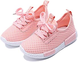 Daclay Children Casual Shoes Boy and Girl Cool Style Kids Mesh Breathable Soft Soled Running Sports Shoes