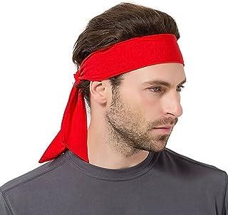 faire les courses pour plus près de grande vente Amazon.fr : bandeau cheveux homme - Rouge