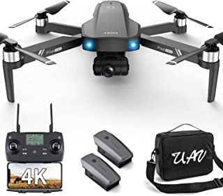 GPS 4k Drones with 2 axis Gimbal EIS Camera for Adults Beginners,3280ft Long Range Professional...