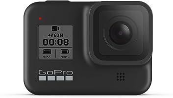 GoPro HERO8 Black - wodoodporna cyfrowa kamera sportowa 4K z funkcją stabilizacji hiperpłynnej, ekranu dotykowego i...