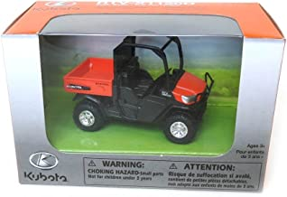 New Ray Kubota X1120D Side by Side Pull Back Motion Plastic Vehicle