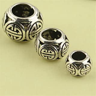 sterling silver trade beads