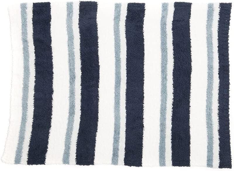 Barefoot Dreams Multi Stripe Stroller Blanket 32 X 38