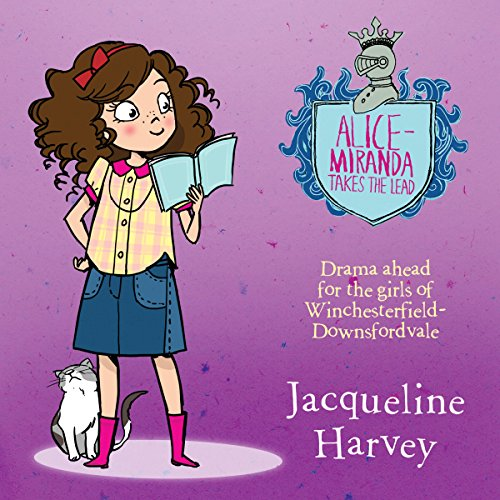 Alice-Miranda Takes the Lead audiobook cover art