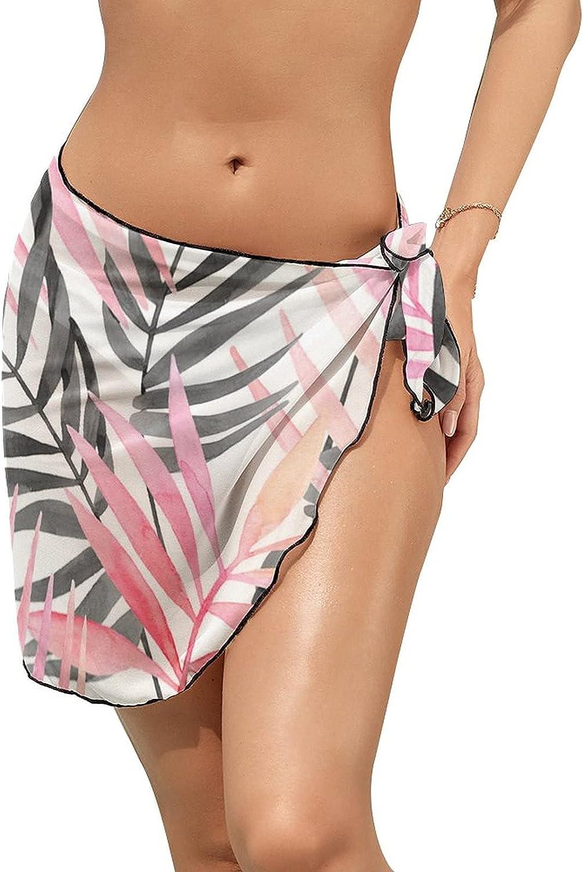 AmaUncle Women Swimwear Chiffon Cover up New Beach Bikini Cover Up Swimsuit Tropic Up Summer Beach Wrap Skirt