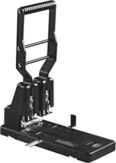 Rexel HD2300 Ultra Heavy Duty 2 Hole Punch, 300 Sheet Capacity, Effortless Punching, Metal, Black, 2100994