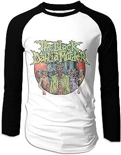 The Black Dahlia Murder Comfortable Men's Long Sleeve Baseball T-Shirts Black