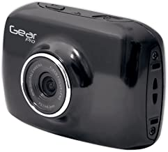 Gear-Pro High-Definition Sport ActionCam, 720p Wide-Angle Camcorder with 2.0 Touch Screen, All Mounting Gear Included - Black