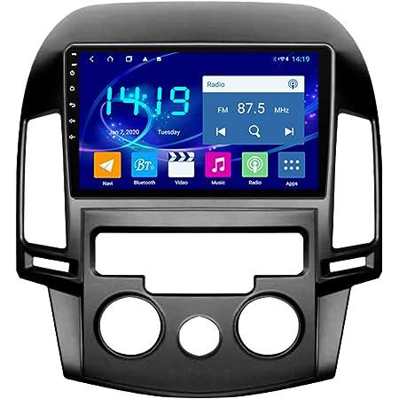 Flower Ager Android Autoradio Für Hyundai I30 2006 2011 Auto Radio Audio Bluetooth Touch Mp5 Player Usb Fm Android Telefon Spiegel Link Entertainment Multimedia Stereo Mit Swc Manual Küche Haushalt